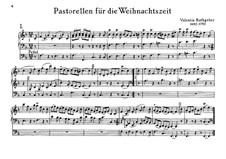 Pastorellen für die Weihnachtszeit: Pastorellen für die Weihnachtszeit by Valentin Rathgeber