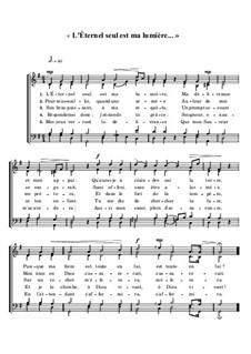 L'Éternel seul est ma lumière: L'Éternel seul est ma lumière by Joseph Haydn