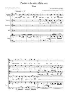 Glee from 'Calthon and Colmal' (Ossian): Glee from 'Calthon and Colmal' (Ossian) by John Wall Callcott