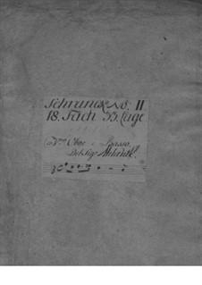 Triosonate für Violine, Oboe und Basso Continuo, TWV 42:F12: Triosonate für Violine, Oboe und Basso Continuo by Georg Philipp Telemann