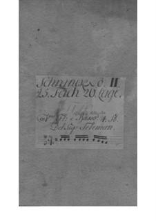 Quartett für Flöte, Violine, Cello und Basso Continuo in e-Moll, TWV 43:e1: Quartett für Flöte, Violine, Cello und Basso Continuo in e-Moll by Georg Philipp Telemann