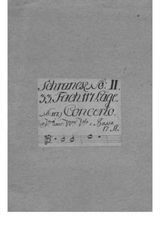 Konzert für zwei Violinen und Orchester, TWV 52:e4: Konzert für zwei Violinen und Orchester by Georg Philipp Telemann