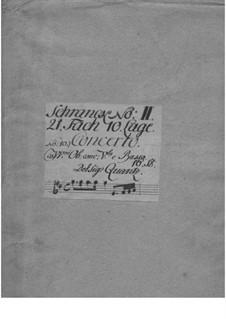 Konzert Nr.59, QV 6:3: Konzert Nr.59 by Johann Joachim Quantz