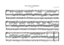 Puer natus in Bethlehem, BWV 603: Für Orgel by Johann Sebastian Bach