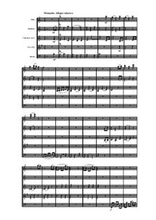 Holzbläserquintett in C-Dur, Op.99 No.1: Teil III by Anton Reicha