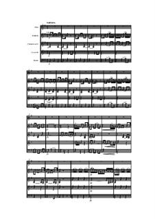 Holzbläserquintett in d-Moll, Op.100 No.2: Teil II by Anton Reicha
