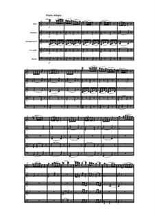 Holzbläserquintett in a-Moll, Op.91 No.2: Teil IV by Anton Reicha