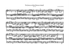 Da Jesus an dem Kreuze stund, BWV 621: Da Jesus an dem Kreuze stund by Johann Sebastian Bach