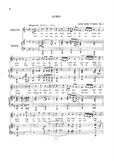 Sieben Gesänge, Op.4: Sieben Gesänge by Agathe Backer Grøndahl