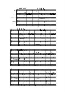 Holzbläserquintett in a-Moll, Op.100 No.5: Teil IV by Anton Reicha