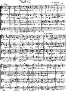 Christus factus: Für gemischten Chor by Felice Anerio