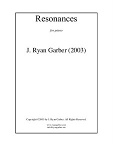 Resonances: Resonances by J. Ryan Garber