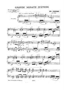 Sonate für Klavier Nr.10 in B-Dur, Op.268: Für einen Interpreten by Carl Czerny
