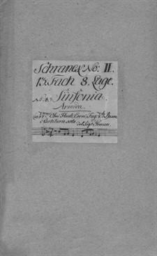 L'Armida, GraunWV B:I:24: L'Armida by Karl Heinrich Graun