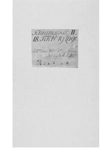 Konzert für zwei Violinen, Streicher und Basso Continuo, TWV 52:G2: Konzert für zwei Violinen, Streicher und Basso Continuo by Georg Philipp Telemann