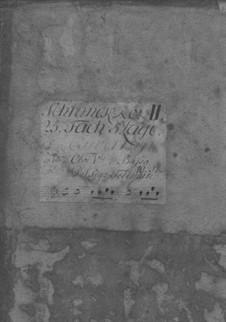 Suite in B-Dur, TWV 55:B9: Suite in B-Dur by Georg Philipp Telemann