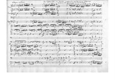 Der Schulmeister. Kantate, TWV 20:57: Vollpartitur by Georg Philipp Telemann