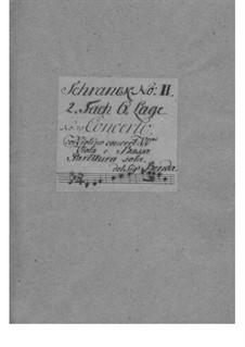Konzert für Violine und Orchester in B-Dur, L II:18: Konzert für Violine und Orchester in B-Dur by Franz Benda
