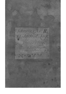 Suite in B-Dur, Fwv K:B 6: Suite in B-Dur by Johann Friedrich Fasch