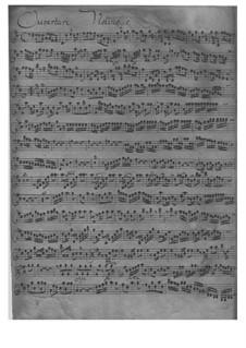 Suite in D-Dur, FWV K:D 23: Suite in D-Dur by Johann Friedrich Fasch