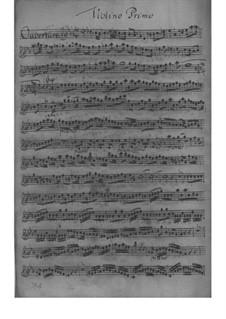 Suite in Es-Dur, Fwv K:Es 1: Suite in Es-Dur by Johann Friedrich Fasch