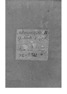 Suite in g-Moll, Fwv K:g 4: Suite in g-Moll by Johann Friedrich Fasch