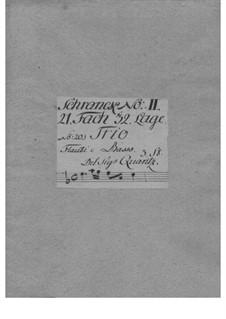 Triosonate für zwei Flöten und Basso Continuo in a-Moll, QV 2:40: Triosonate für zwei Flöten und Basso Continuo in a-Moll by Johann Joachim Quantz