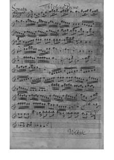 Sinfonia in F-Dur, SeiH 210 Hwv IV:5: Sinfonia in F-Dur by Johann David Heinichen