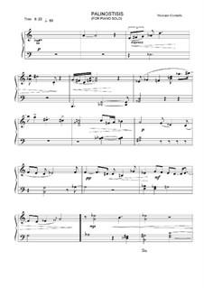 Palinostisis, Op.4: Palinostisis by Nikolaos Giamalis