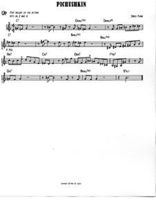 Pichushkin: Treble clef version by Jared Plane