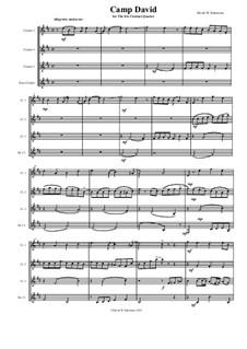 Camp David: For clarinet quartet by David W Solomons
