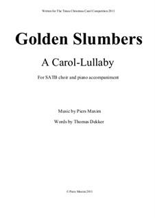 Golden Slumbers: Golden Slumbers by Piers Maxim