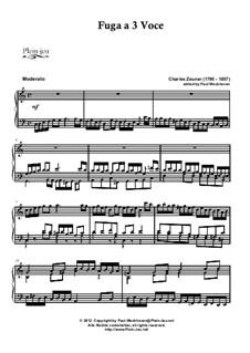 Zeuner's Fuga and Loud's Legende: Zeuner's Fuga and Loud's Legende by Charles Zeuner, Thomas Loud