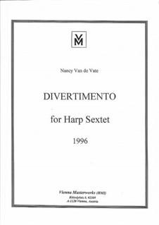Sextet for Harp and Strings: Vollpartitur by Nancy Van de Vate
