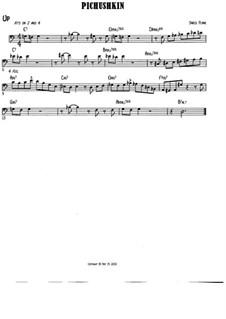 Pichushkin: Bass clef version by Jared Plane