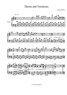 Theme and Variations: Thema und Variationen by Steve Hansen Smythe