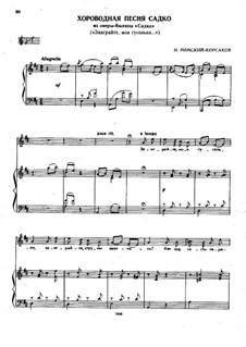 Sadko. Opera: Хороводная песня Садко by Nikolai Rimsky-Korsakov
