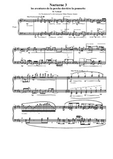 Nocturne No.3 for piano, MVWV 657: Nocturne No.3 for piano by Maurice Verheul