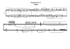 Nocturne No.2 for piano, MVWV 656: Nocturne No.2 for piano by Maurice Verheul