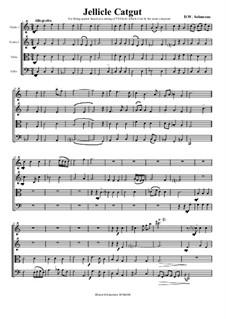 Jellicle Catgut: Für Streichquartett by David W Solomons