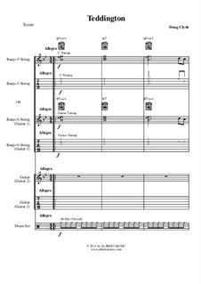 Forgotten Lands: Teddington (Banjo, Guitar, Drums), AMSM47 by Doug Clyde