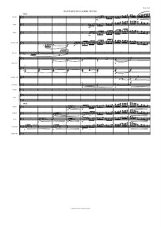 Фантазия в классическом стиле: Фантазия в классическом стиле by Roman Stolyar