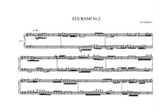 Eucrami No.2 for Piano, MVWV 103: Eucrami No.2 for Piano by Maurice Verheul