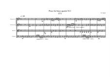 Piece for brass quartet No.11 (21), MVWV 115: Piece for brass quartet No.11 (21) by Maurice Verheul
