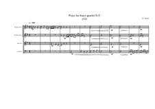 Piece for brass quartet No.13 (32), MVWV 117: Piece for brass quartet No.13 (32) by Maurice Verheul