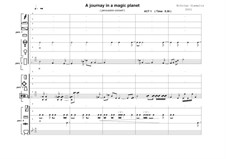 A journey in a magic planet, Op.27: A journey in a magic planet by Nikolaos Giamalis