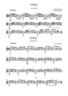 Этюд ля минор No.1, 2: Этюд ля минор No.1, 2 by Alexander Zatynchenko