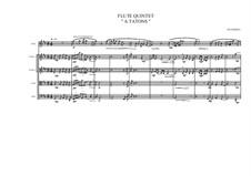 Flute Quintet, MVWV 52: Flute Quintet by Maurice Verheul