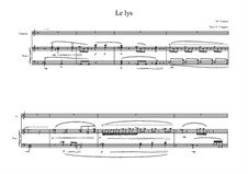 Song for Soprano and piano No.4 on a poem of François Edouard Joachim Coppée, MVWV 41: Song for Soprano and piano No.4 on a poem of François Edouard Joachim Coppée by Maurice Verheul