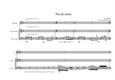 Song for Soprano, Violin and Cello on a poem of Leon Montenaeken, MVWV 38: Song for Soprano, Violin and Cello on a poem of Leon Montenaeken by Maurice Verheul
